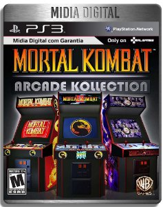 Mortal Kombat Arcade Kollection - Ps3 Psn - Mídia Digital