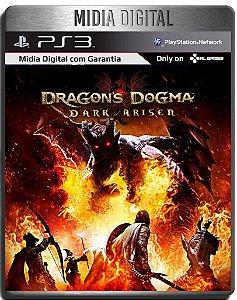 Dragons Dogma Dark Arisen - Ps3 Psn- Mídia Digital