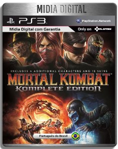 Mortal Kombat 9 Komplete Edition - Playstation 3 Psn Ps3  - Mídia Digital