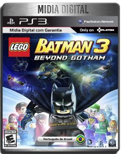 Lego Batman 3 : Beyond Gotham - Ps3 Psn - Mídia Digital