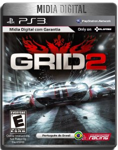 Grid 2 Dublado - Ps3 Psn - Mídia Digital