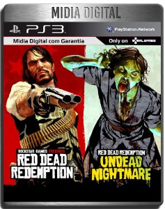 Red Dead Redemption + Undead Nightmare - Ps3 Psn - Mídia Digital