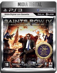 Saints Row 4 + Todas As Dlcs - Ps3 Psn - Mídia Digital