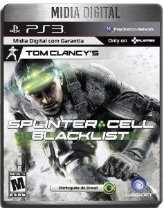Splinter Cell Blacklist - Ps3 Psn - Mídia Digital