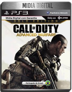 Call Of Duty Cod Advanced Warfare Gold Edition - Ps3 Psn - Mídia Digital