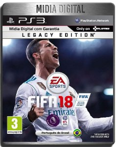 Fifa 18 - Ps3 Psn - Mídia Digital