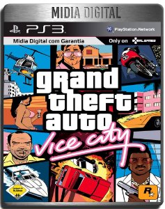 Grand Theft Auto Gta Vice City - Ps3 Psn - Midia Digital