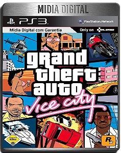 Grand Theft Auto Gta Vice City - Ps3 Psn - Midia Digital