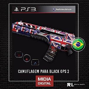 Camuflagem Para Black Ops 2 em Português - Escolha a sua - PS3 - MIDIA DIGITAL