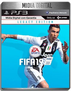 Fifa 19 Fifa 2019 - Ps3 Psn - Mídia Digital -