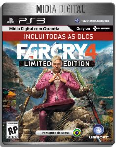 Far Cry 4 Gold Edition Inclui Todas Dlcs - Ps3 Psn - Mídia Digital