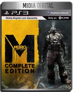 Metro Last Light Complete Edition - Ps3 Psn - Midia Digital