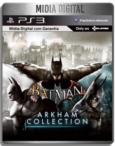 Batman Arkham Collection - Ps3 Psn - Midia Digital