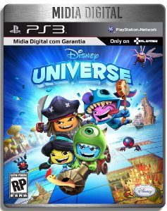 Disney Universe - Ps3 Psn - Midia Digital