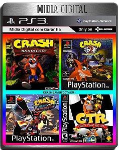 Crash Bandicoot Collection 4 Em 1 Clássicos de ps1 - Ps3 Psn - Midia Digital