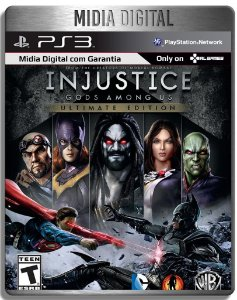 Injustice Gods Amoung Us Ultimate Edition - Ps3 Psn - Midia Digital