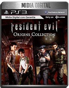 Resident Evil Origins deluxe + dlcs - 2 Jogos - Ps3 Psn - Midia Digital