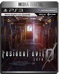 Resident Evil 0 Zero Hd Remaster - Ps3 Psn - Midia Digital