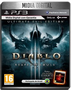 Diablo 3 Reaper Of Souls Ultimate Evil Edition - Ps3 Psn - Midia Digital