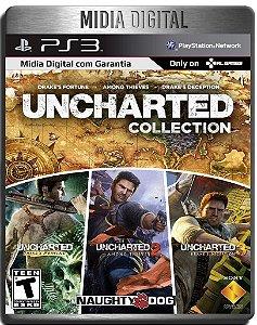 Uncharted Trilogia - 3 Jogos - Ps3 Psn - Midia Digital