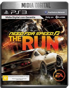 Need For Speed The Run - Ps3 Psn - Midia Digital
