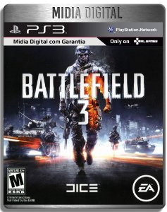 Battlefield 3 Bf3 - Ps3 Psn  - Midia Digital