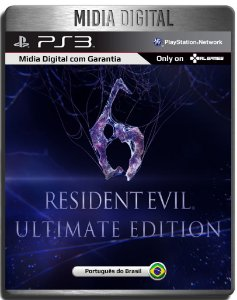 Resident Evil 6 Ultimate Edition + Dlcs - Ps3 Psn - Midia Digital