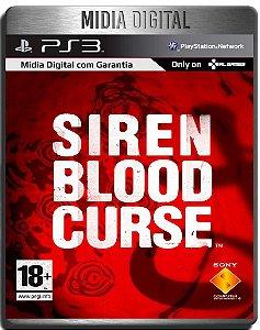 Siren Blood Curse - Ps3 Psn - Midia Digital