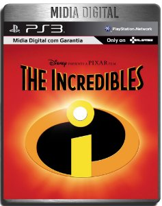 Os Incriveis - Ps2 Classicos - Ps3 Psn - Midia Digital