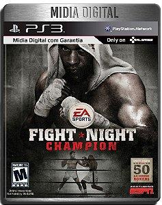 Fight Night Champion - Ps3 Psn - Midia Digital