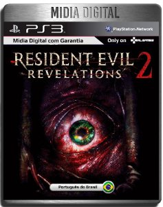 Resident Evil Revelations 2 Completo - Ps3 Psn - Midia Digital