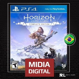 Horizon Zero Dawn Complete Edition Primaria - Ps4 Psn - Midia Digital
