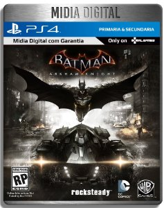 Batman Arkham Knight - Ps4 Psn - Midia Digital Primária