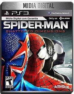 Spider Man Homem Aranha Shattered Dimensions - Ps3 Psn - Midia Digital
