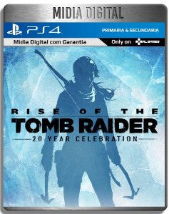 Rise Of The Tomb Raider - Ps4 Psn - Midia Digital Primaria