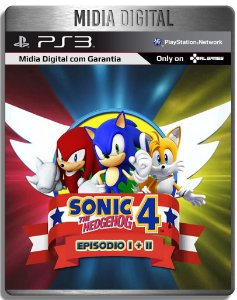 Sonic 4 Episodio 1 e 2 - Ps3 Psn - Midia Digital