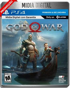 God of War Gow - Ps4 Psn - Midia Digital Primária