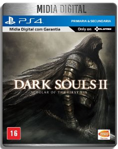 Dark Souls 2 Scholar of The First Sin - Ps4 Psn - Midia Digital Primaria