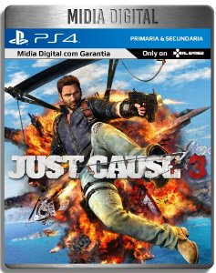 Just Cause 3 - Ps4 Psn - Midia Digital Primaria