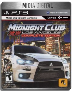 Midnight Club Los Angeles Complete Edition - Ps3 Psn - Midia Digital