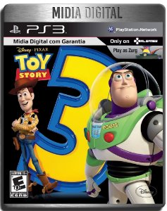 Toy Story 3 The Video Game - Ps3 Psn - Mídia Digital
