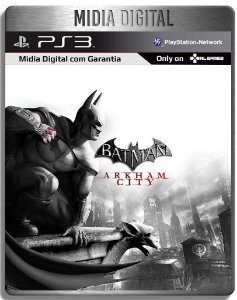 Batman Arkham City - Ps3 Psn - Mídia Digital