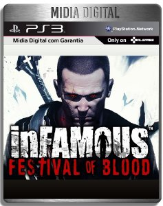inFAMOUS Festival of Blood - Ps3 Psn - Mídia Digital