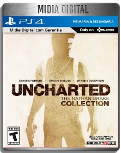 Uncharted The Nathan Drake Collection - Ps4 Psn - Mídia Digital primária