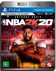 NBA 2K20 - Ps4 Psn - Mídia Digital Primária