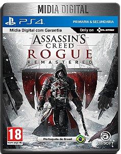 Assassin's Creed Rogue Remastered - Ps4 Psn - Mídia Digital