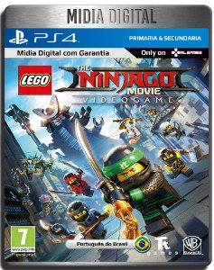 Lego NinjaGO O Filme Video Game - Ps4 Psn - Mídia Digital Primária