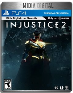 Injustice 2 - Ps4 Psn - Mídia Digital Primária