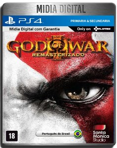 God of War 3 Remastered - Ps4 Psn - Mídia Digital Primária
