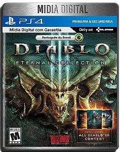 Diablo III Eternal Collection - Ps4 Psn - Mídia Digital Primária